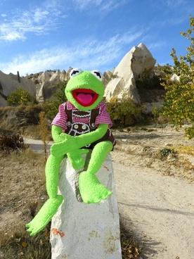 kermit frog cappadocia