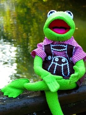 kermit frog doll
