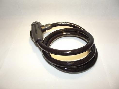 kevlar coated bike lock
