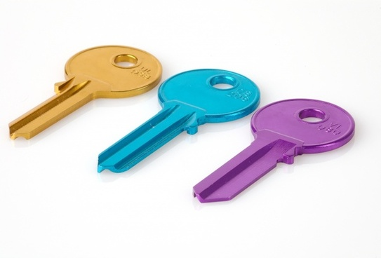 key colorful matching