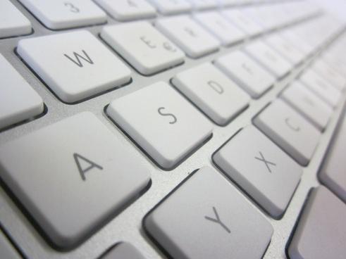 keyboard mac white