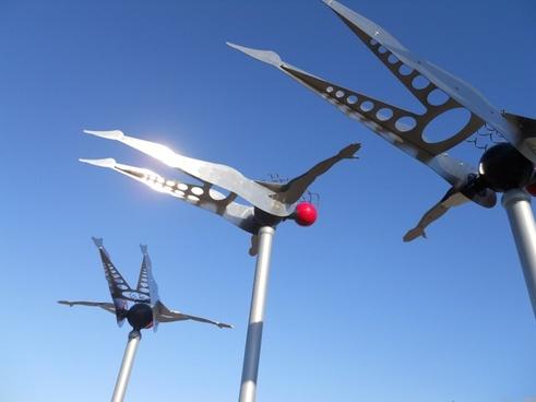 kinectic sculptures portland oregon clackamas town center mall