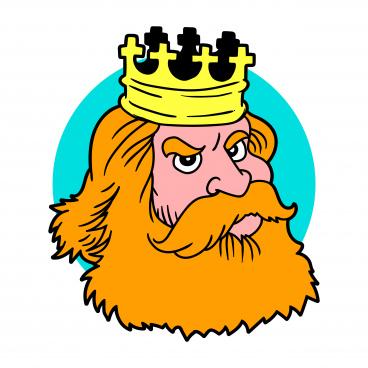 king head mascot