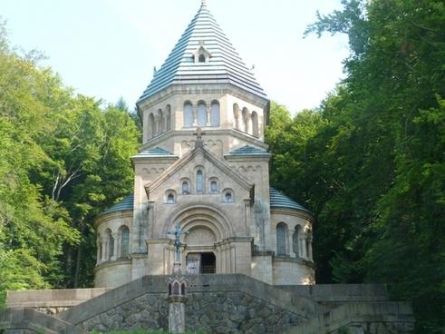 king ludwig ii votive chapel starnberger see