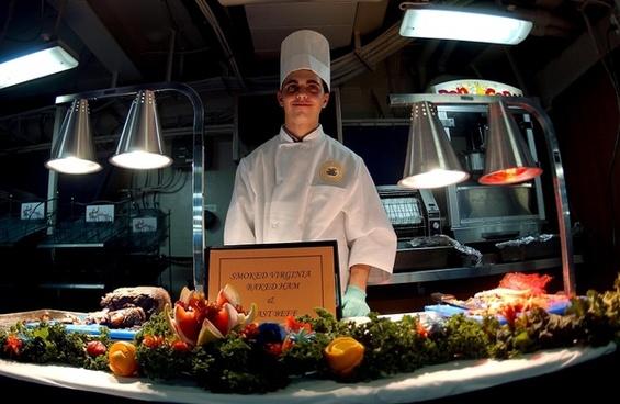 kitchen chef female