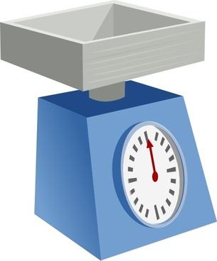 Kitchen Scales clip art