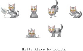 Kitty Alive icons pack