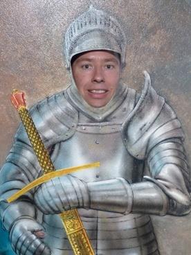 knight armor sword