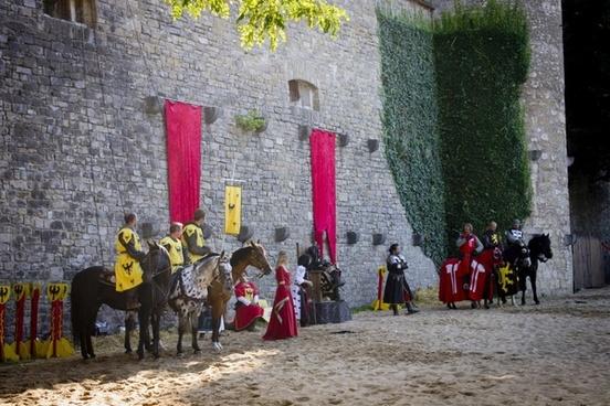 knight castle armor