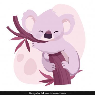 koala icon cute cartoon sketch