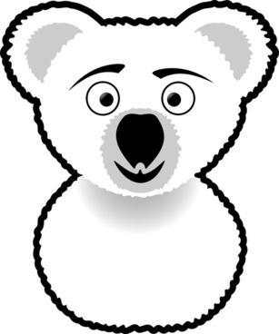 Koala Line Art