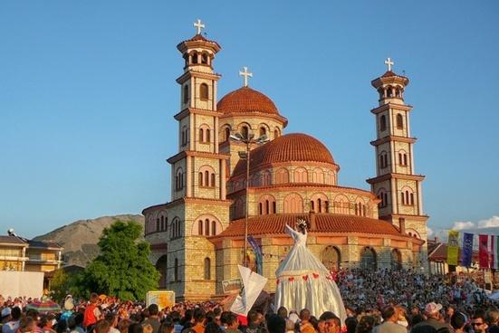 korce albania town