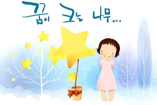 korean children illustrator psd 30