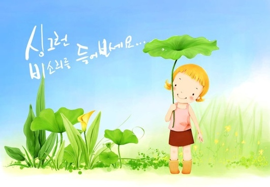 korean children illustrator psd 41