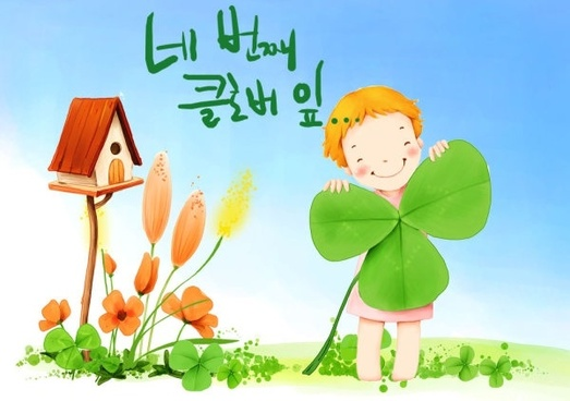 korean children illustrator psd 44