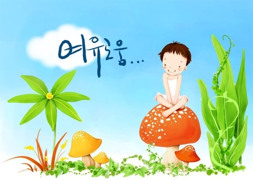 korean children illustrator psd 46