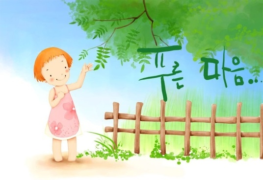 korean children illustrator psd 49