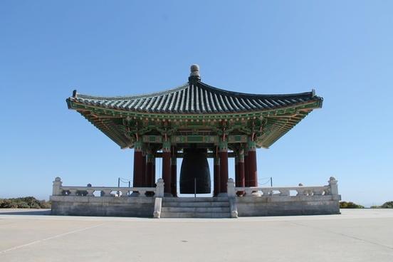 korean friendship bell monument