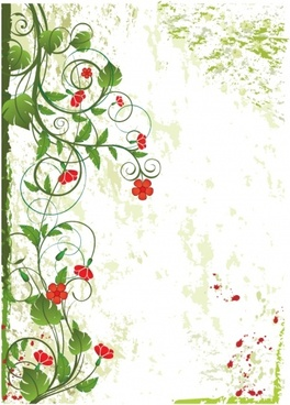 flowers background multicolored classical decor