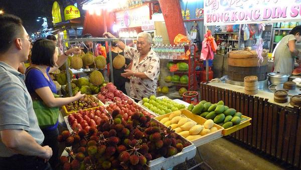 kuala lumpur fruit stand