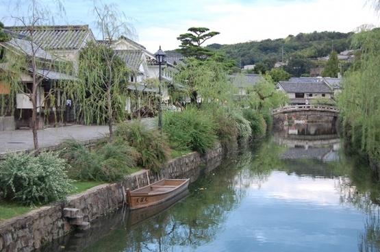 kurashiki okayama river