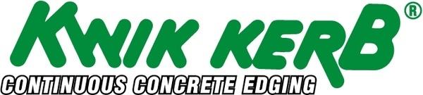 kwik kerb concrete edging