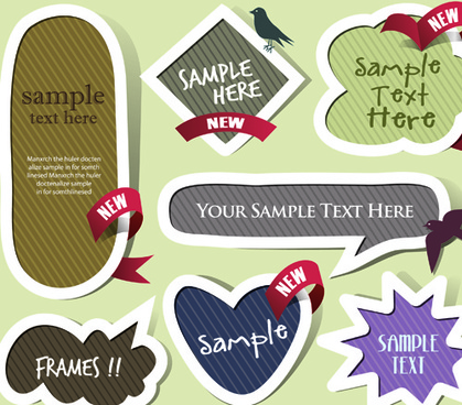 label cloud for you text vector