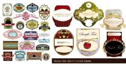 label european pattern vector