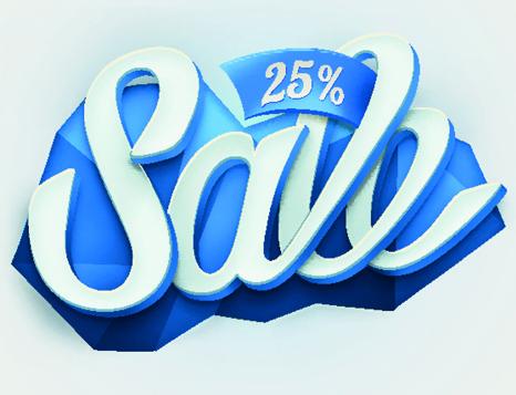 label sale creative vector