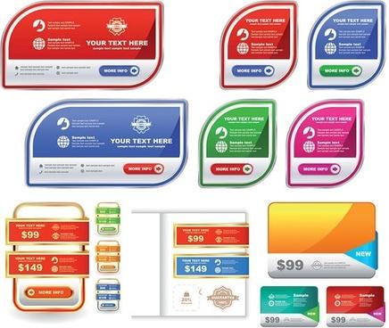 label sales vector