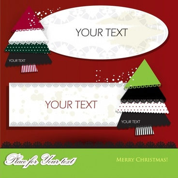 lace christmas spell icon stickers vector