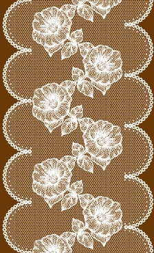 lace pattern background 03 vector