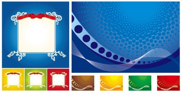 lace ribbon dynamic lines of the background vector