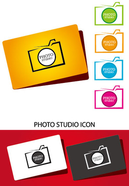 laconic cards design elements vector
