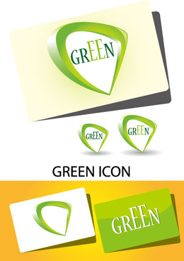 laconic cards design elements vector