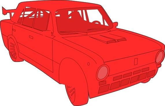 Lada Car clip art