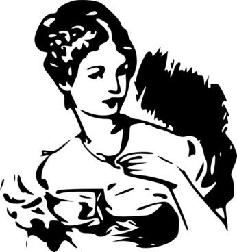 Lady Clipart clip art
