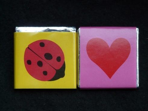 ladybug heart sweetness