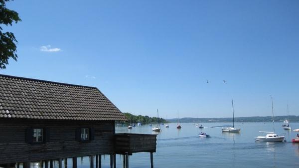 lake ammersee bavaria germany