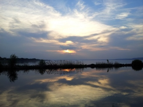 lake balaton balaton see
