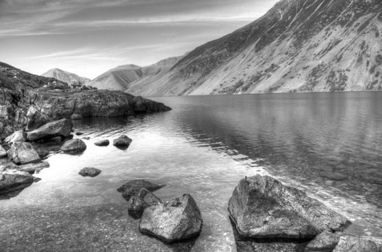 lake stones