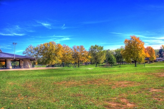 landscape of a park in madison in madison wisconsin