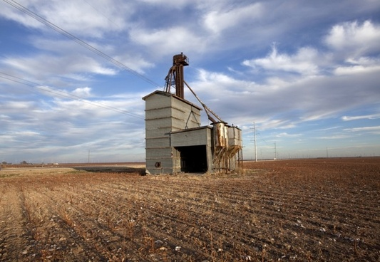 landscape texas grain elevator