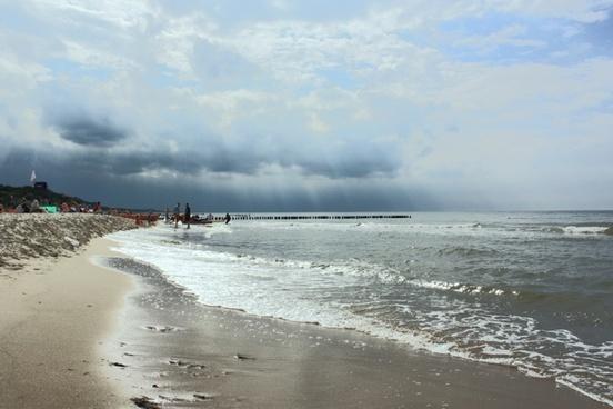 landscape view sea