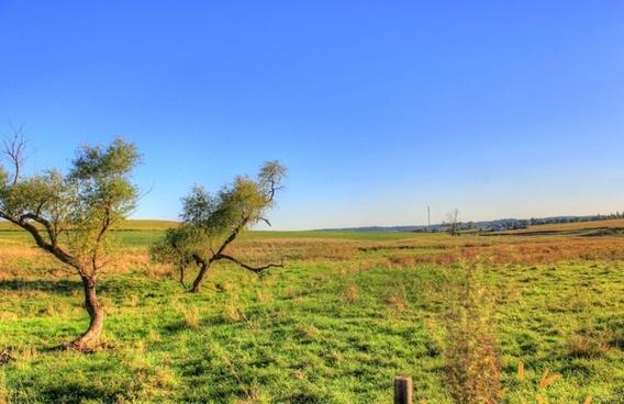 landscapes outside of charles mound illinois