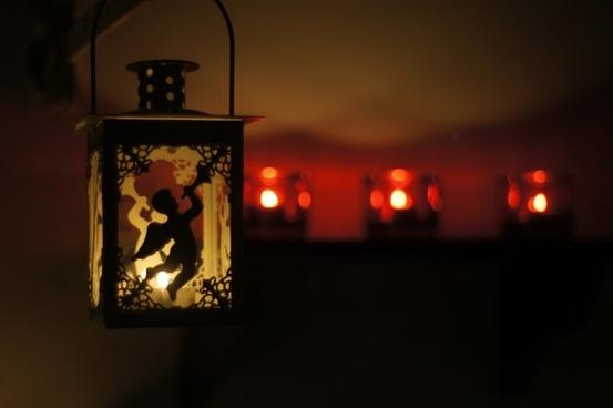 lantern angel lighting