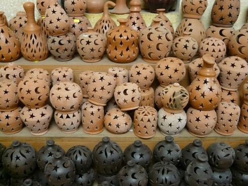 lanterns ceramic pottery