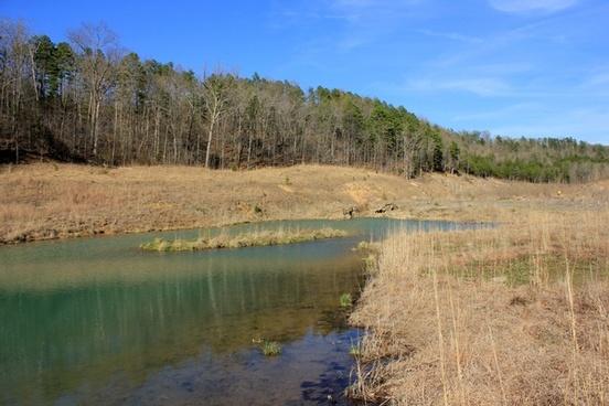 large stream at johnson039s shut ins state park