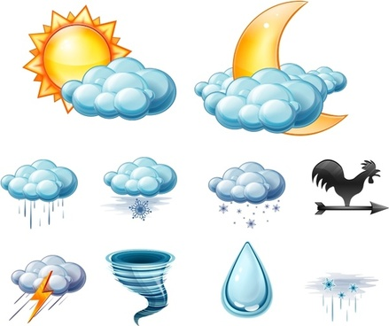 Large Weather Icons icons pack