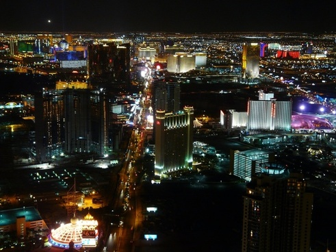 las vegas city night